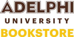 Adelphi bookstore logo